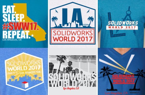 Rock the T-shirt Vote! SWW17 T-shirt Voting is Now Open!