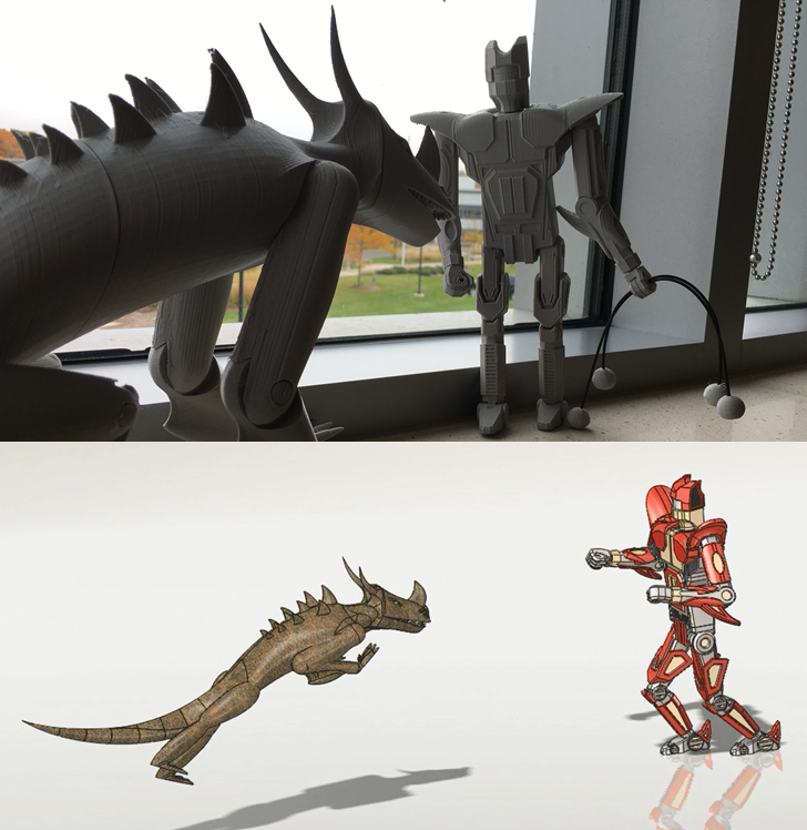 SOLIDWORKS Simulation: Kaiju vs. Mech