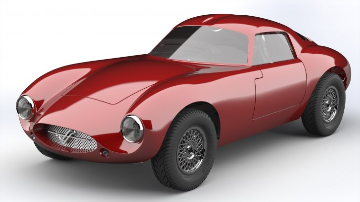 Effeffe Berlinetta: A Car Of Yesterday, Conceived Today, Built in 3D CAD