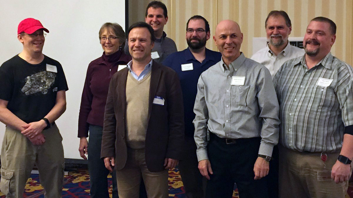Gian Paolo Bassi and SWUGN Leaders at SLUGME 2016