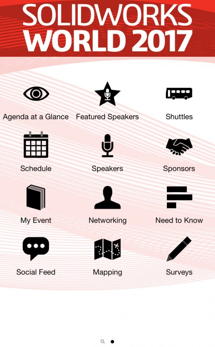Download the SOLIDWORKS World 2017 Mobile App Today!
