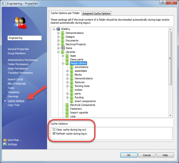 It Pays to Share: Local Cache Management in SOLIDWORKS PDM