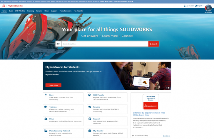 New Online Trials and eCourse Training Now Available at MySolidWorks