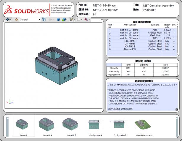 Figure 6 Published 3D PDF Of NIST Assembly