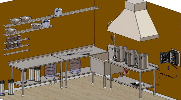 Brewing with Electricity: The SOLIDWORKS Brewery