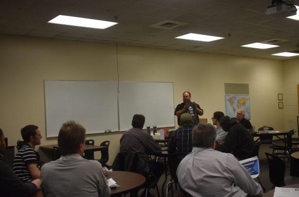 James Adkins teaching