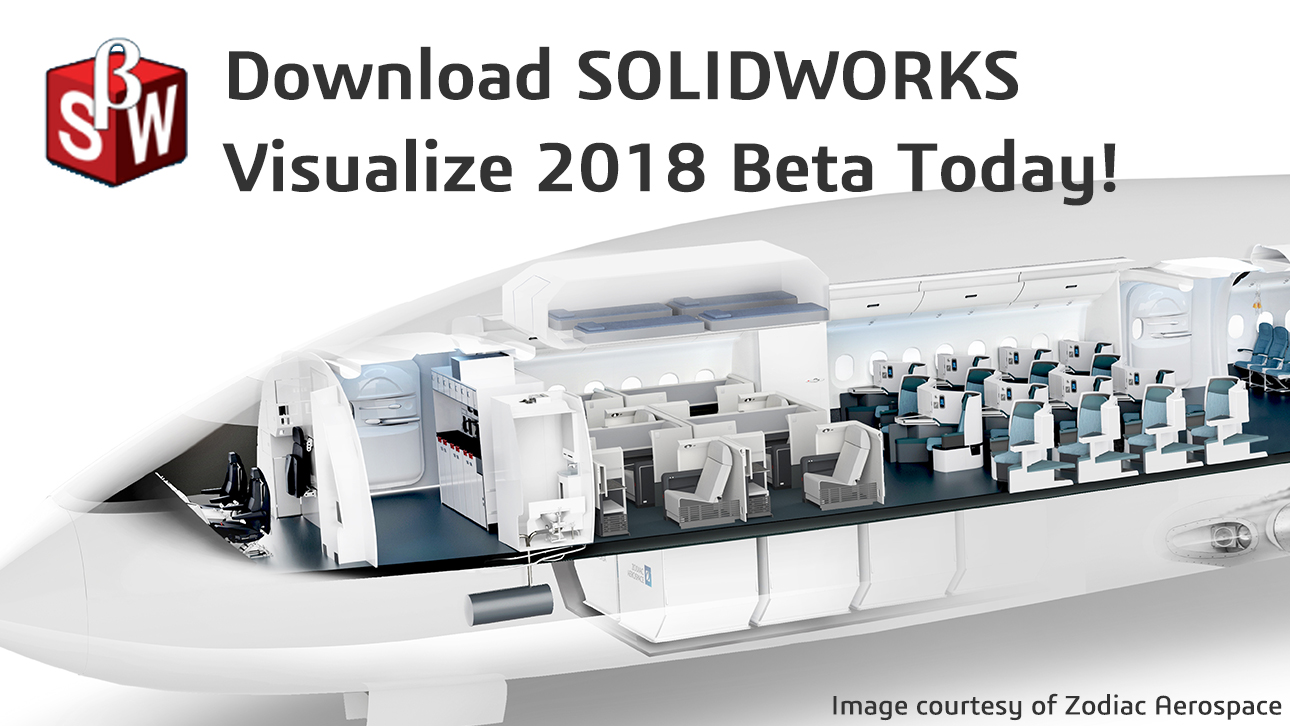 SOLIDWORKS Visualize 2018 Beta is Here!