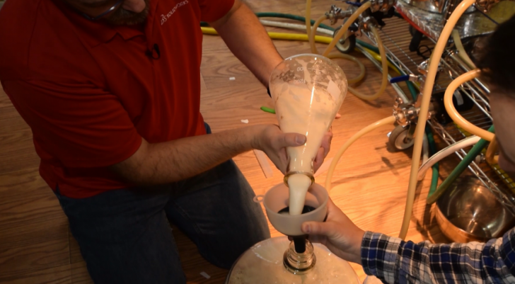 Brewing with Electricity: The SOLIDWORKS Brewery Part 6: Pitching the Yeast
