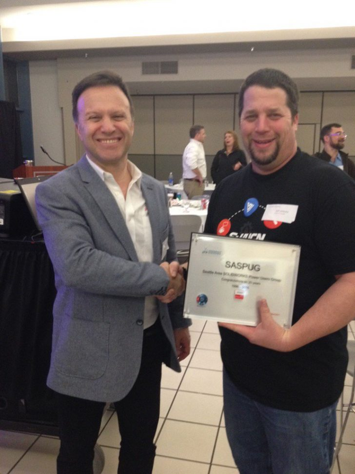 20 Years: The Seattle Area SOLIDWORKS Power User Group