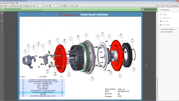 SOLIDWORKS MBD How-To Video Series (Part 4): How to Publish a 3D PDF