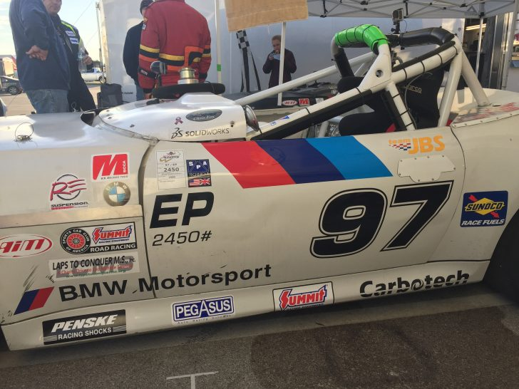 SOLIDWORKS at the SCCA Run-offs at Indianapolis Motor Speedway: Day 3
