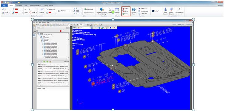 SOLIDWORKS Inspection 2018 Adds Support for 2D & 3D CAD Files