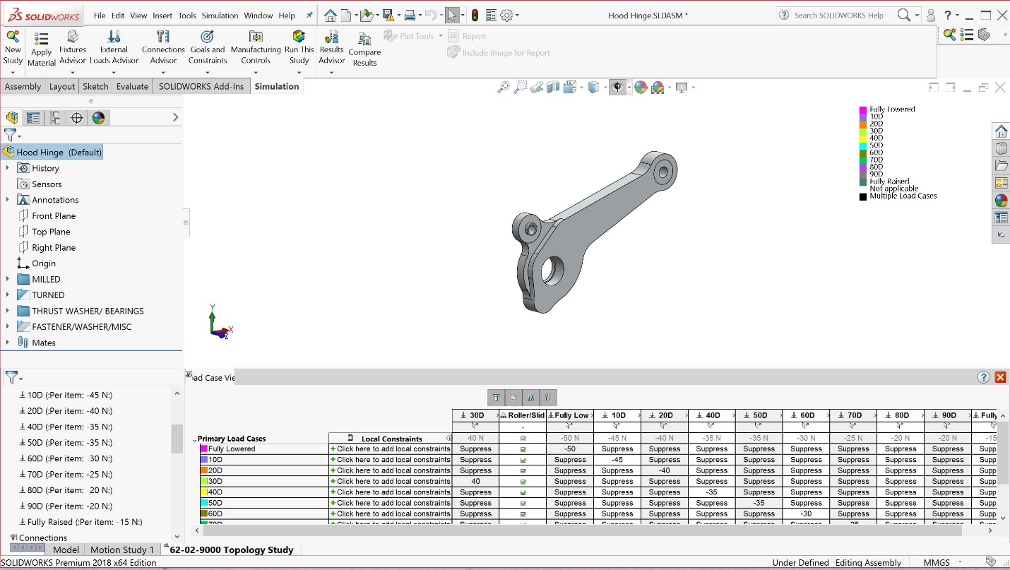 My Highlights of SOLIDWORKS Simulation 2018: the New Toplogy