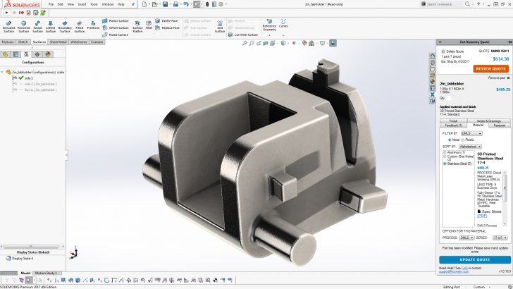Dixon Valve & Coupling Optimizes Manufacturing with SOLIDWORKS and Xometry