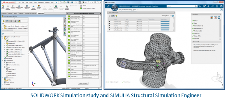 SIMULIA Simulation Engineer: Try out a new workflow for SOLIDWORKS users