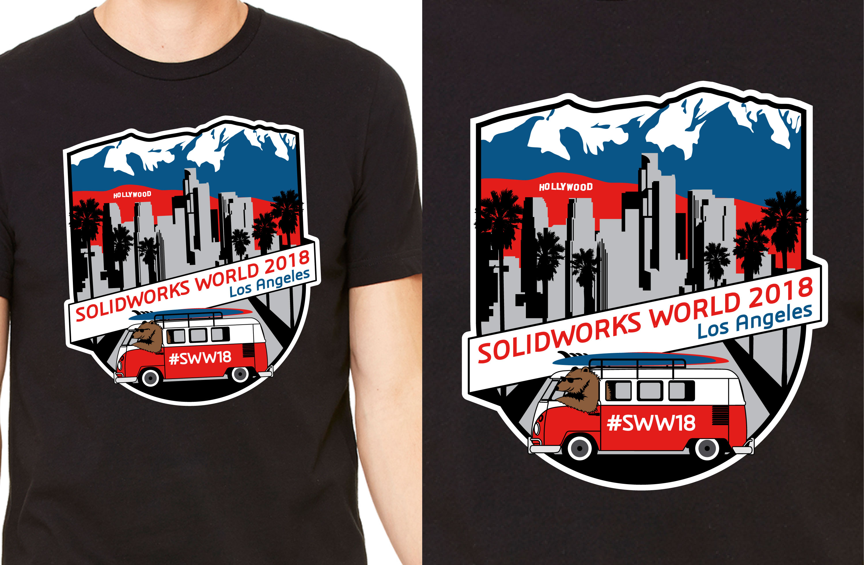 Who Wants A Solidworks World 2018 T Shirt