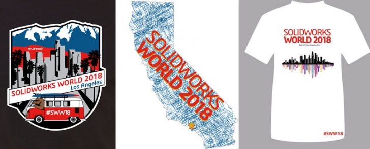 Who Wants a SOLIDWORKS World 2018 T-Shirt?