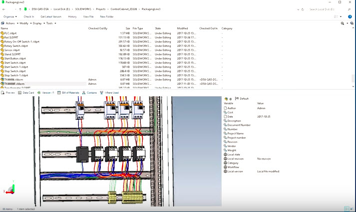 PDM for All: SOLIDWORKS Electrical to PDM Connector