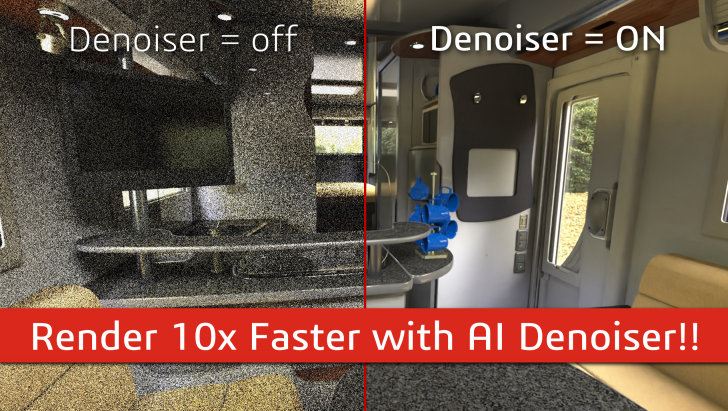Introducing the New Artificial Intelligence Denoiser