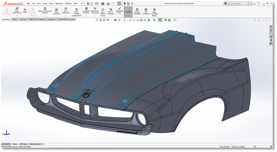 Ringbrothers Javelin Design SOLIDWORKS