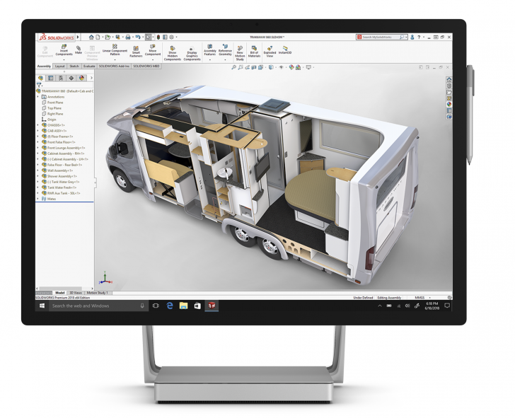 Microsoft Surface and SOLIDWORKS Transform how Ringbrothers Build Hot Rods