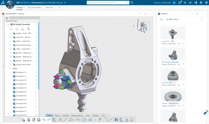 Kicking the Tires of SOLIDWORKS xDesign