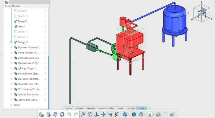 SOLIDWORKS xDesign Challenge Submission – Shawn Lesley