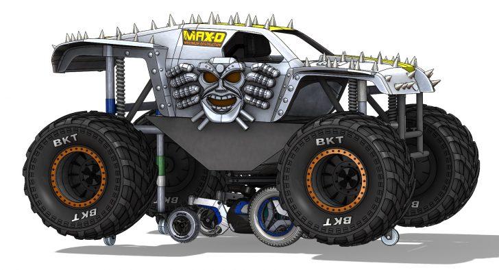 Keep On (Monster) Truckin': Building Begins