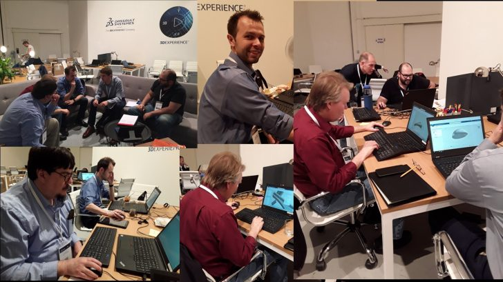 SOLIDWORKS xDesign Hackathon in Milan