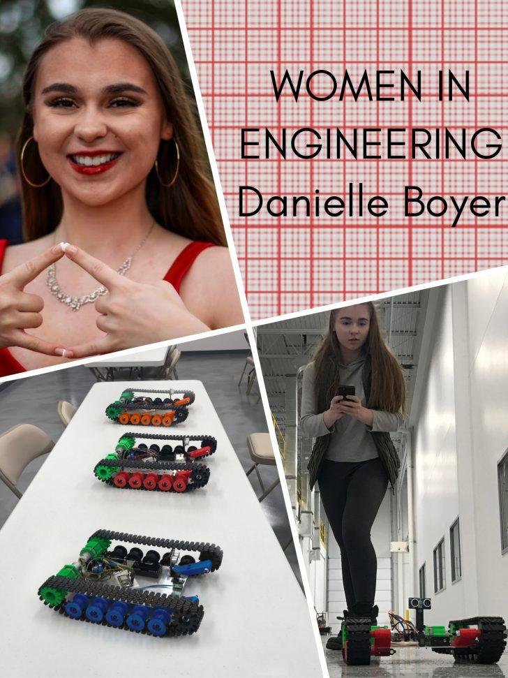 SOLIDWORKS Women In Engineering Series: Danielle Boyer