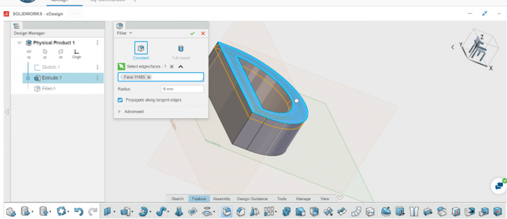 My First Experience using SOLIDWORKS xDesign