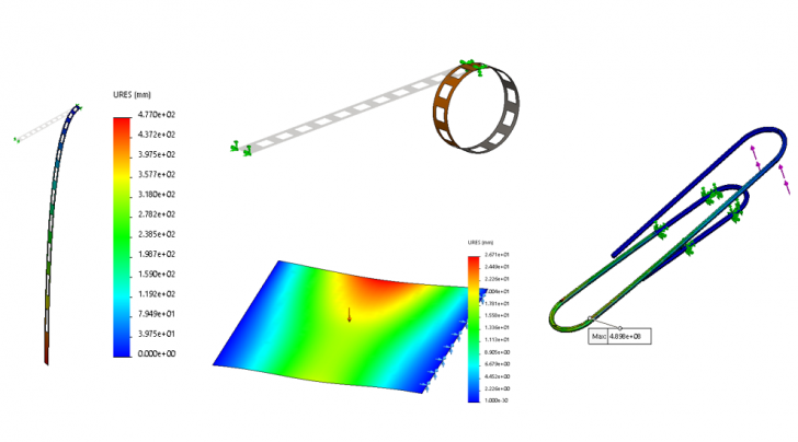 SOLIDWORKS Simulation Premium Nonlinear eCourse is Now Available