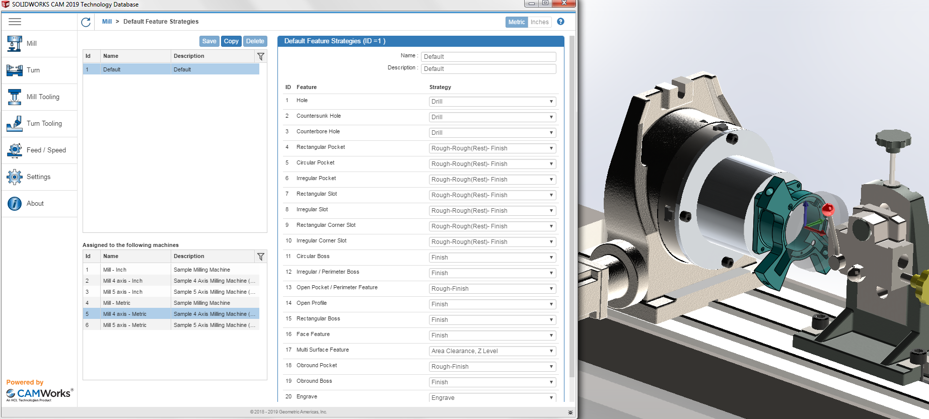 Smarter machining with SOLIDWORKS CAM/Machinist