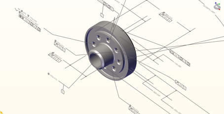 Improved workflows for technical documentation with SOLIDWORKS Composer.