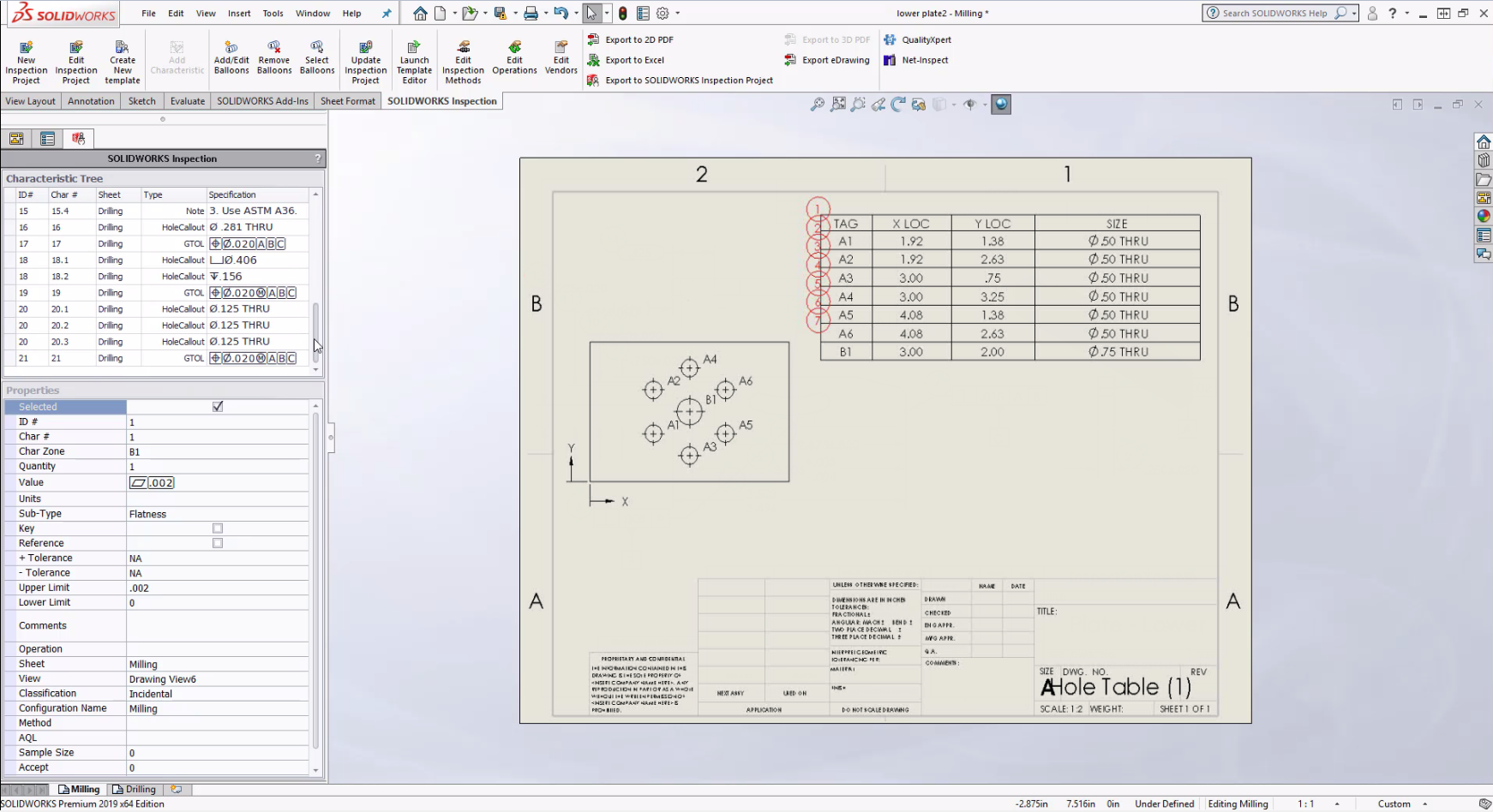 Increased productivity and flexibility with SOLIDWORKS Inspection