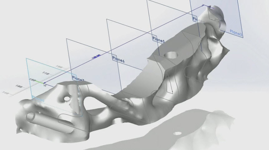 New design possibilities through the use of mesh modeling
