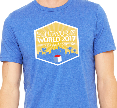 ee6b6791 Go BIG and BOLD! Enter the SOLIDWORKS WORLD T-Shirt Design contest!