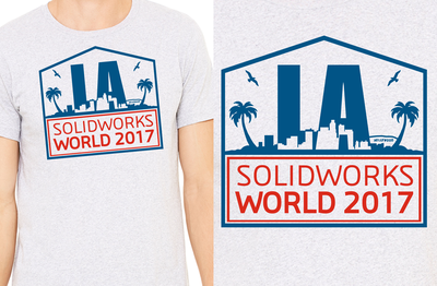 Go BIG and BOLD! Enter the SOLIDWORKS WORLD T-Shirt Design contest!