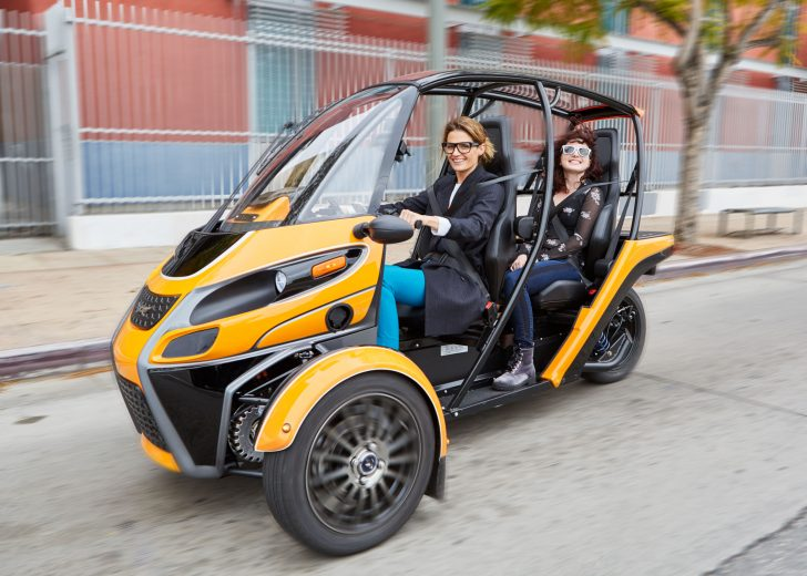 Arcimoto Steps into the Future with its Electric Fun Utility Vehicle