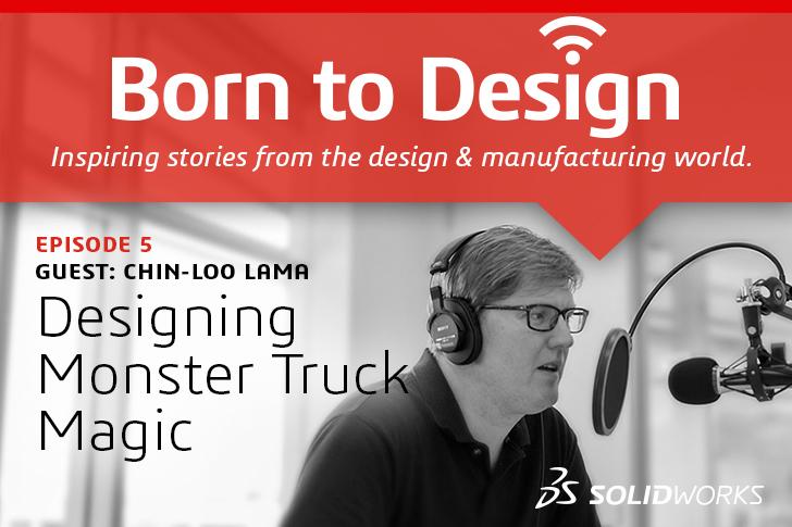 Born to Design Podcast No. 5: Designing Monster Truck Magic