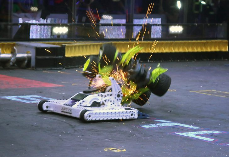 BattleBots Final – Four SOLIDWORKS-Designed Bots Duke it Out