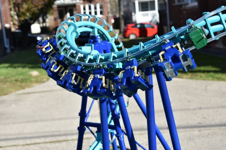 See a Functional 3D-Printed Roller Coaster at SOLIDWORKS World 2019