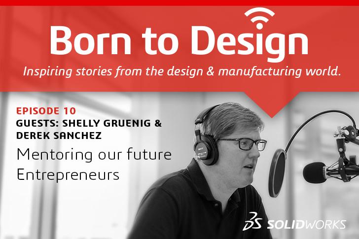 Born To Design Podcast No.10: Mentoring our future Entrepreneurs