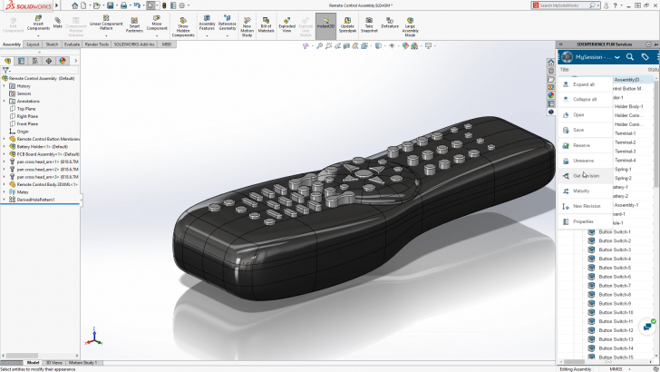 Technology Preview: SOLIDWORKS 2020
