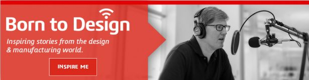 Born to Design Podcast Banner