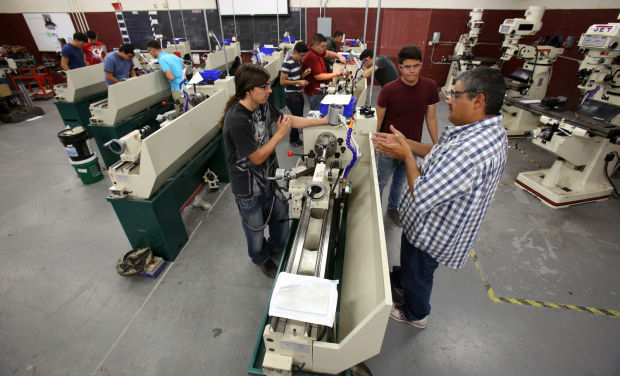 Teaching STEM in the Machine shop