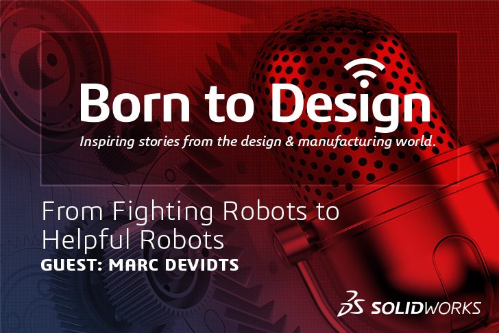 Podcast: From Fighting robots to helpful robots with Mark DeVidts