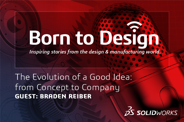 Born to Design Podcast Ep14 with Braden Reiber