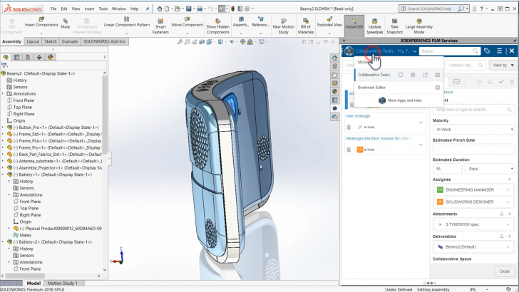 New Solutions on the 3DEXPERIENCE Cloud Platform Streamline Product Data Management and Design
