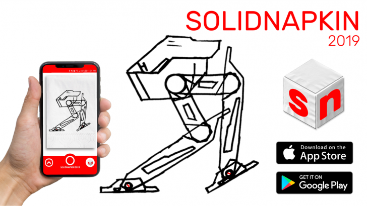 SOLIDNAPKIN Transforms Sketches into SOLIDWORKS Parts